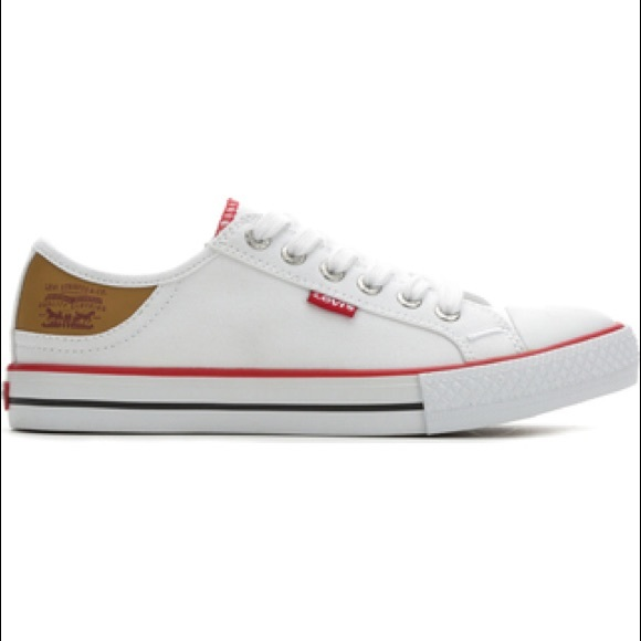 Womens Levis Canvas Lowtop Sneakers